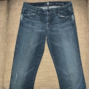 EUC 7 for all Mankind A Pocket Jeans Size 25.